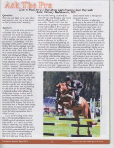 Katie-Southeast Equine Article April 2014 FOR WEBSITE