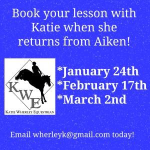 KWE Aiken return trip dates